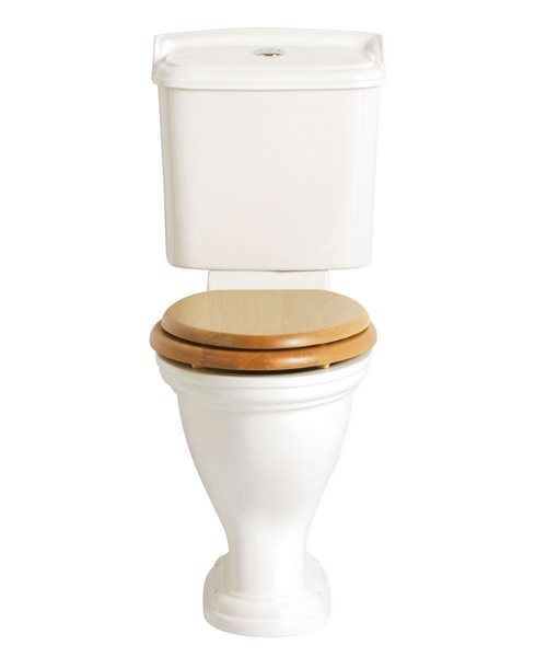 Heritage Dorchester Comfort Height WC And Portrait Cistern