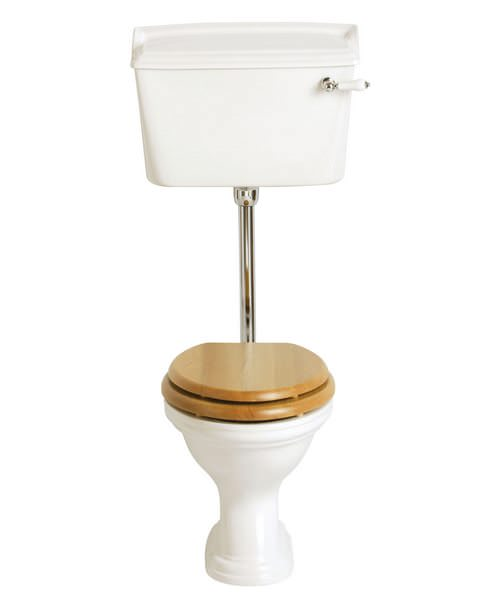 Heritage Dorchester Low Level Flush Toilet Pan And Cistern