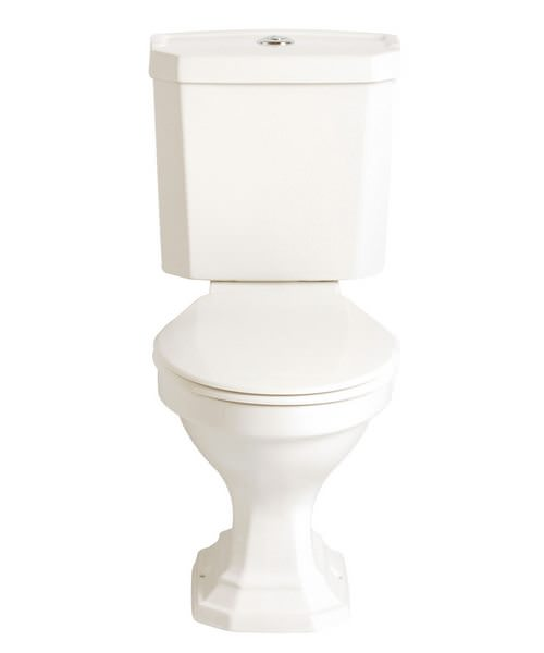 Heritage Granley Deco Comfort Height WC And Portrait Cistern