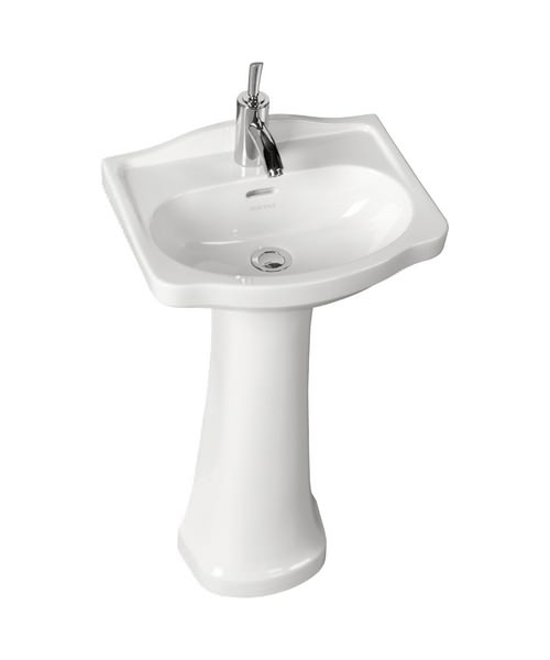 Heritage Rhyland 1 Or 2 Tap Hole 463 x 370mm Cloakroom Basin