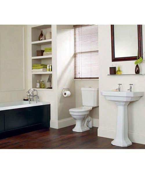 Heritage Granley Deco Traditional Bathroom Suite