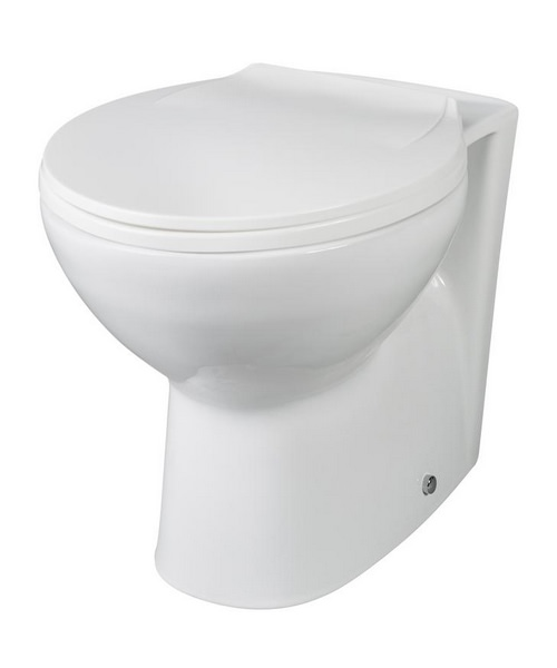 Lauren Brisbane Back-To-Wall WC Pan 520mm
