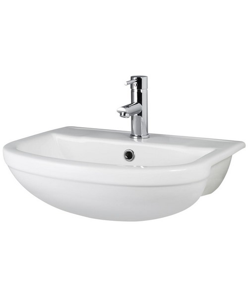 Hudson Reed Harmony 500mm Semi Recessed Basin