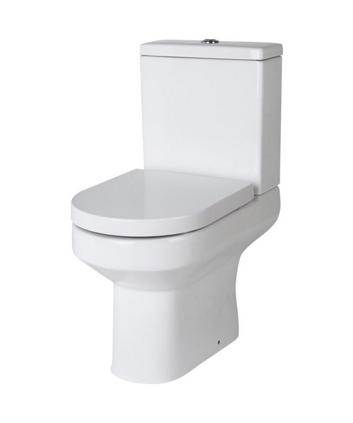 Lauren Harmony Close Coupled Semi Flush To Wall WC Set 620mm