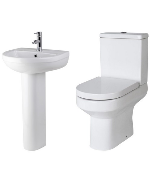 Lauren Harmony Basin And Toilet Set