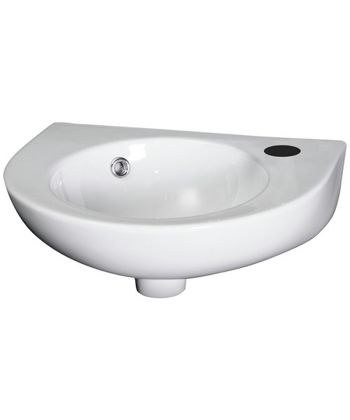 Lauren Brisbane 430 x 345mm Wall Hung Basin