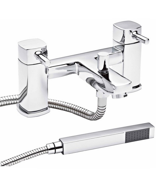 Lauren Munro Bath Shower Mixer Tap With Shower Kit
