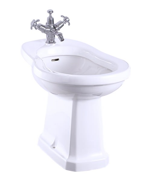 Burlington Back to Wall Bidet