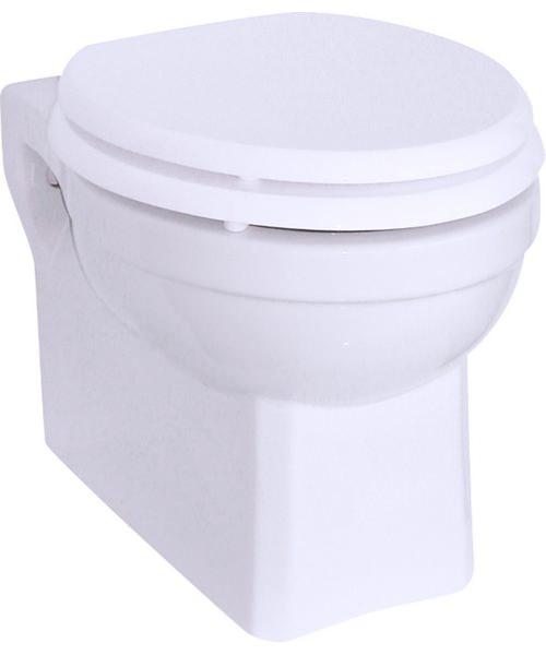 Burlington Wall Hung Traditional Toilet