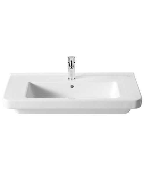 Alternate image of Roca Dama-N 550 x 460mm Wall Hung Basin With 1 Tap Hole