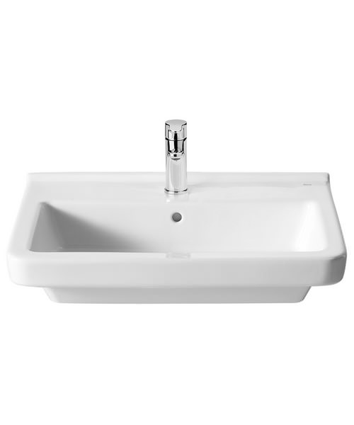 Roca Dama-N 550 x 460mm Wall Hung Basin With 1 Tap Hole