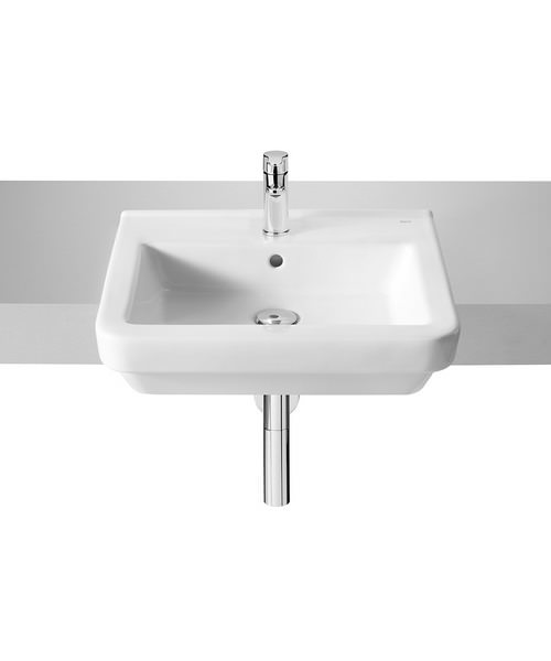 Roca Dama-N Semi-Recessed Basin - W 520 x D 420mm