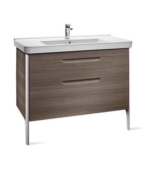 Roca dama n 2 drawer base unit for 1000mm basin for 1000mm kitchen drawer unit