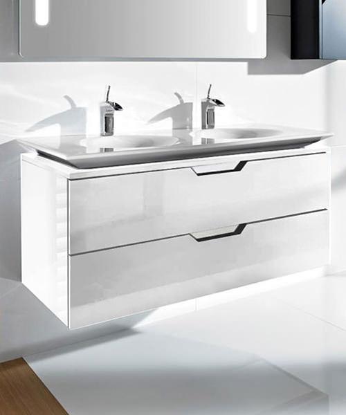 Roca kalahari n gloss white base unit for 1200mm basin for White gloss kitchen base units