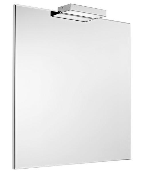 Roca Victoria-N 600 x 700mm Mirror - Gloss White