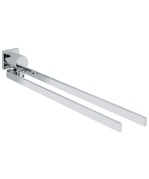 Grohe Spa Allure Chrome Towel Holder - Two Arms