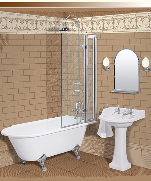 Burlington Bath Screen With Access Panel