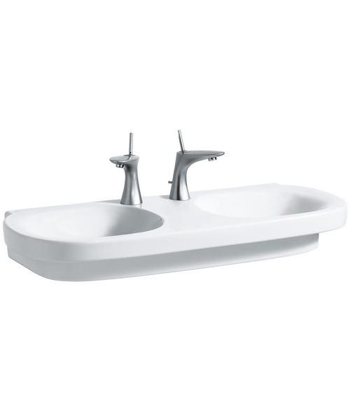 Laufen Mimo Undersurface Ground Double Washbasin 1000 x 440mm