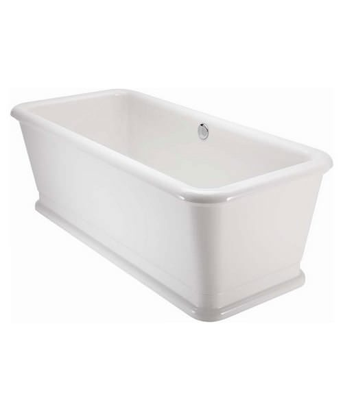 Burlington London Rectangle Soaking Tub 1800 x 850mm