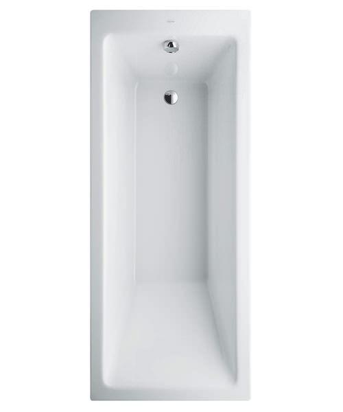 Laufen Pro 1700 x 750mm Rectangular Acrylic Bath Without Frame