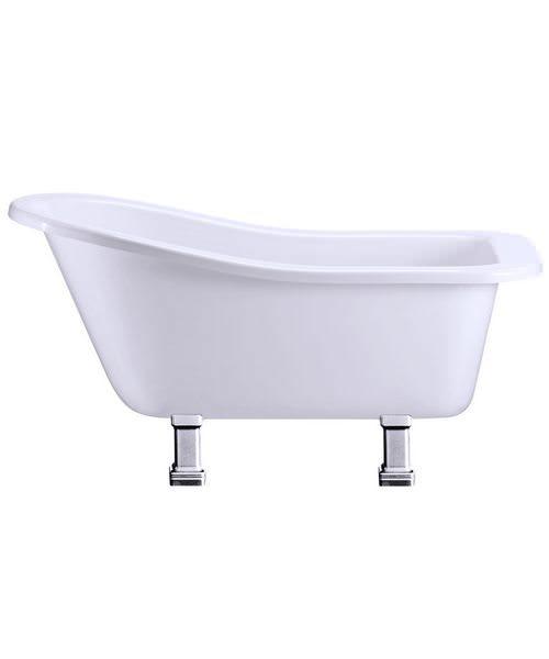 Burlington Buckingham Slipper Bath With Period Legs Chrome