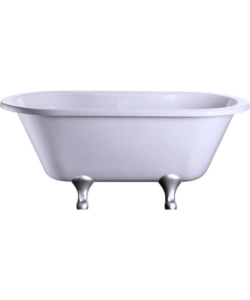 Burlington Windsor Double Ended 150cm Bath With Classical Legs