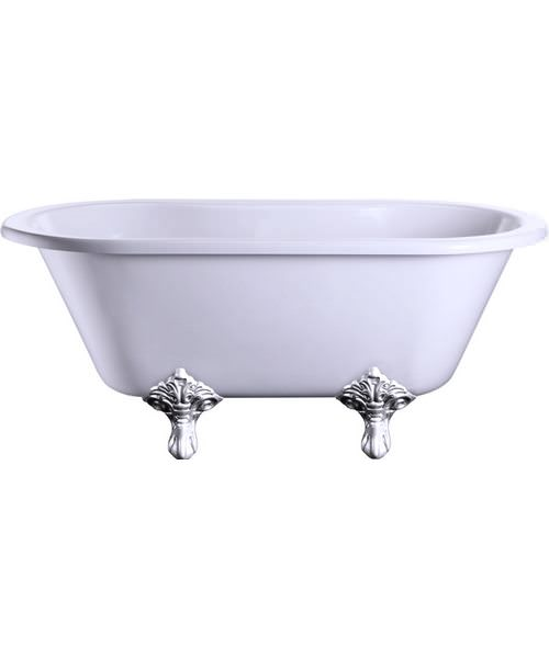 Burlington Windsor Double Ended 150cm Bath With Traditional Legs