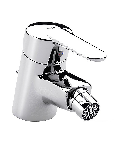 Roca Victoria Bidet Mixer Tap With Retractable Chain - No Waste