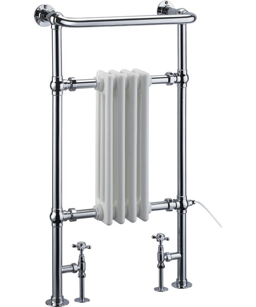 Burlington Bloomsbury Traditional Towel Radiator