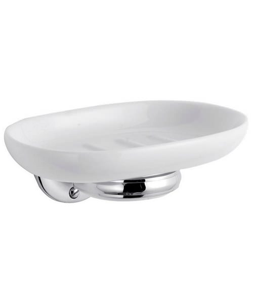 Beo Soap Dish With Chrome Holder