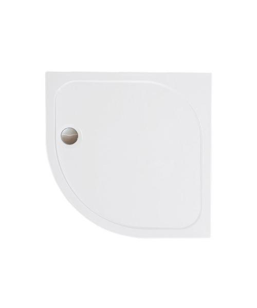 Merlyn Mstone Quadrant Shower Tray With Waste - 1000 x 1000mm