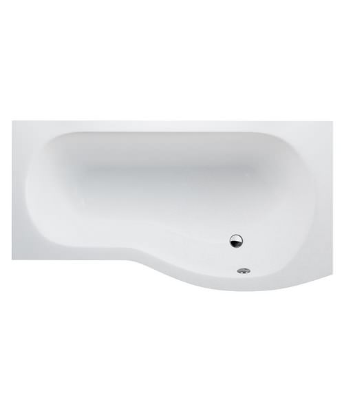 Cleargreen Ecoround Shower Bath 1700mm x 800mm Right Handed