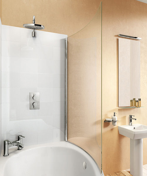 Cleargreen Ecoround 820 x 1450mm Bathscreen - BS7