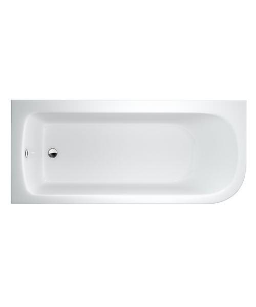 Cleargreen Viride Offset 170cm x 75cm Single Ended Bath Left Hand