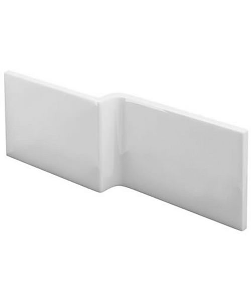 Cleargreen Ecosquare 1700mm White Front Bath Panel