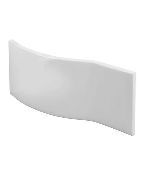 Cleargreen Ecoround Front Bath Panel 1500mm White