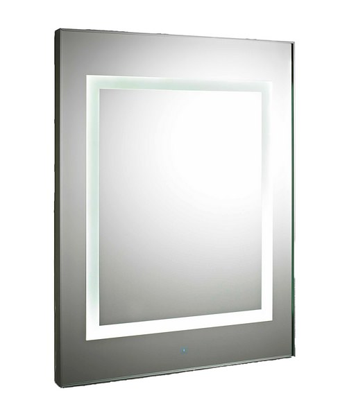 Lauren Level Touch Sensor 600 x 800mm LED Mirror With De-Mister Pad