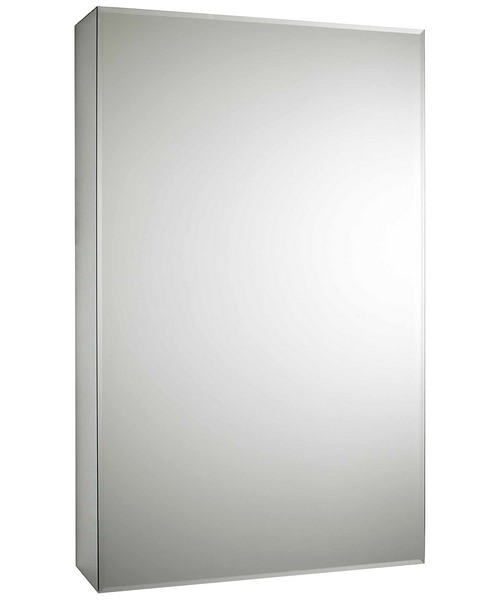 Lauren Intrigue 460mm Slide Opening 1 Door Mirror Cabinet