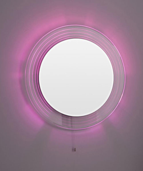 Lauren Orpheus 600mm Round Colour Change LED Mirror