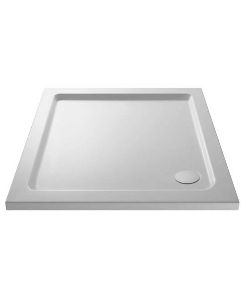 Nuie Premier Pearlstone 1000 x 1000mm Square Shower Tray