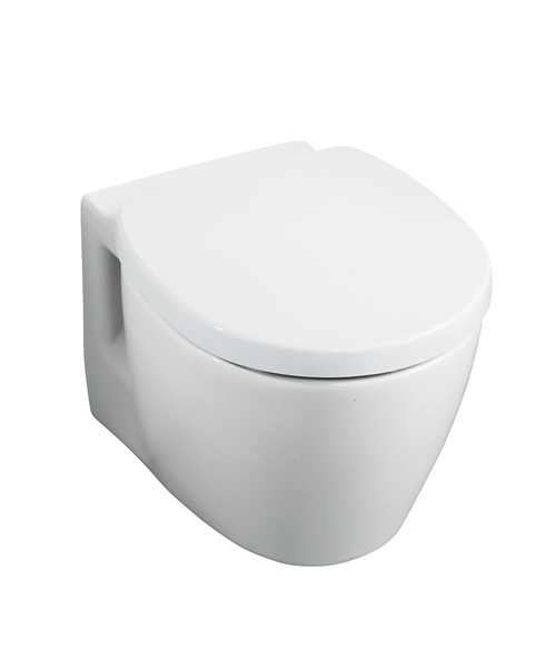 Ideal standard concept space compact wall hung wc pan - Small toilets for tight spaces concept ...