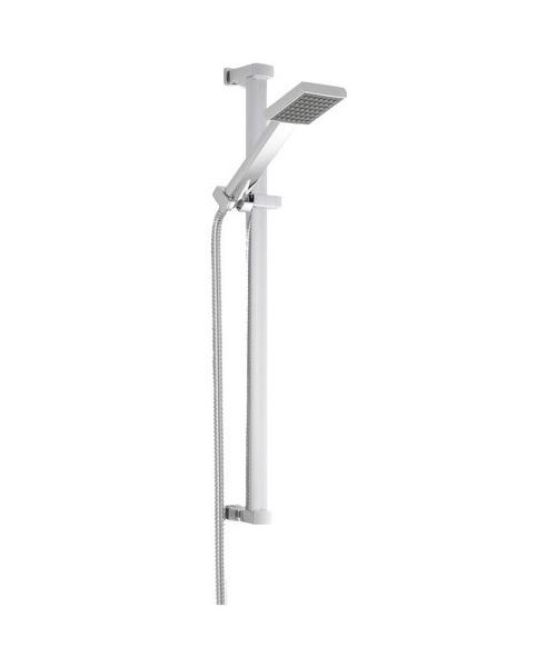Premier Rectangular Single Function Shower Slide Rail Kit