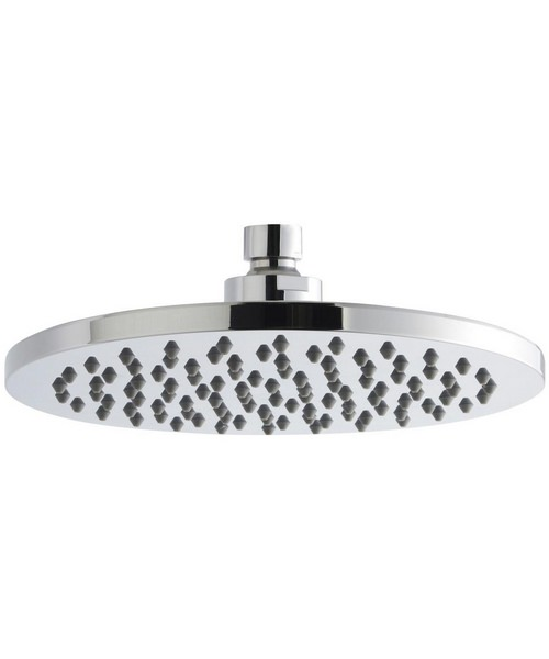 Nuie Premier 200mm Round ABS Fixed Shower Head