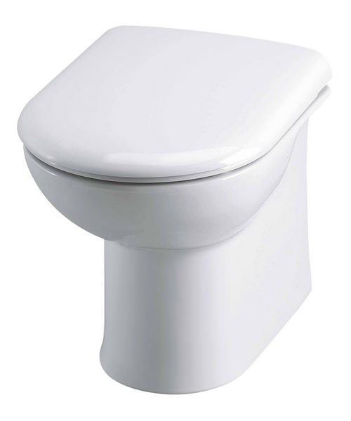 Premier Back To Wall Pan With Soft Close Seat And Concealed Cistern