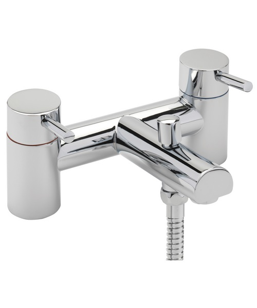 Sagittarius Piazza Deck Mounted Bath Shower Mixer Tap And Kit