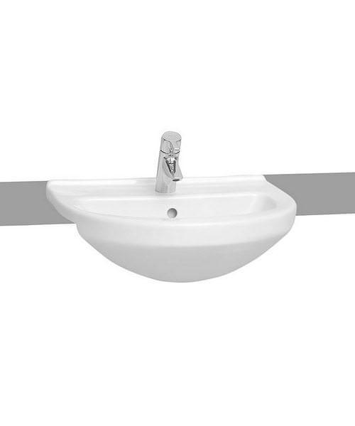 VitrA S50 Round Semi-Recessed 55cm Basin