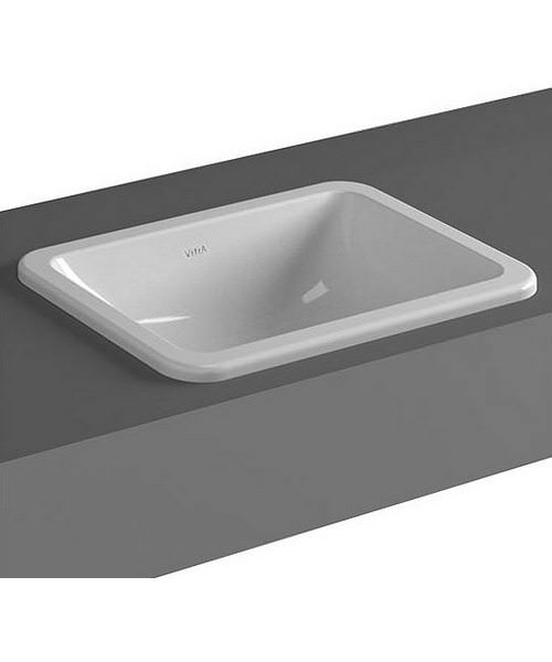 VitrA S20 Commercial 45cm Countertop Basin
