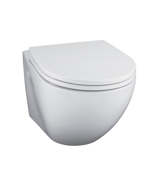 Front Elevation Of Wc : Ideal standard white wall mounted wc pan with horizontal