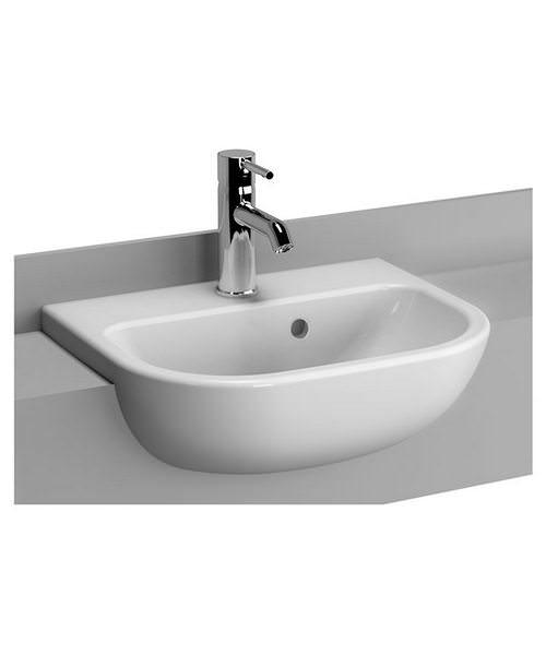 VitrA S20 Semi-Recessed 45cm Basin