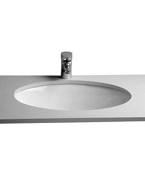 VitrA S20 420mm Undercounter Oval Basin